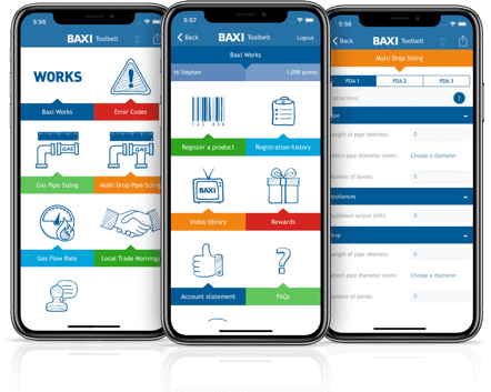 Baxi Works App Preview
