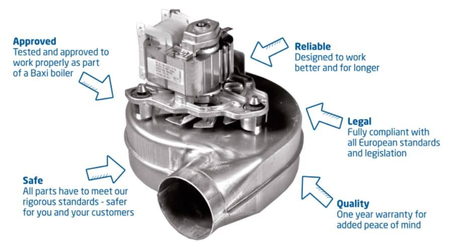 Why use Baxi Genuine Parts