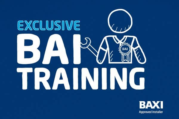 Baxi offers exclusive training for Baxi Approved Installers